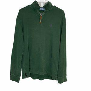 POLO RALPH LAUREN Men's Green Pullover Sweater
